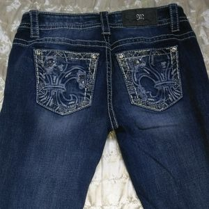 Miss Me Jeans 27 x 33 Mid-Rise Easy Boot Like New!